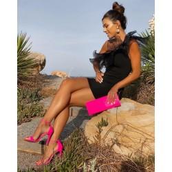 Sandalia FASHION flúor pink